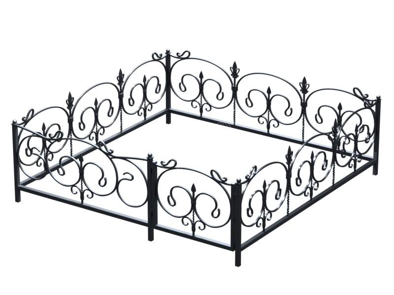 Как выбрать ограду на могилу